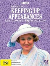 Keeping Up Appearances (DVD, 2005, 8-Disc Set) used with free postage AUSTRALIA