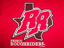 Minor League Baseball Frisco Roughriders Red Graphic Print TShirt M