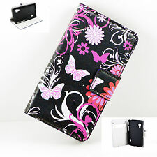 Premium Magnetic Leather Wallet Cover Case Fit For LG Optimus L5 II DUAL E455