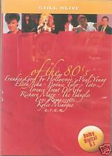 DVD 32 promo only LOVE OF THE 80'S Glen Medeiros Cutting Crew Scorpions Bangle