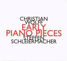 Christian Wolff • Early Piano Pieces CD Neu - in Folie