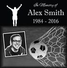 Personalized Pet Stone Memorial Grave Engraved Marker 12x12 Human Soccer Theme