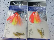 2 NEW MINI 3 HOOK 2/0 OCTOPUS MUPPETS POR RIGS Pollack Cod Fishing Lure Sea Boat