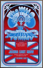 The Who Tommy Fillmore East  Oversized Promotional  Poster