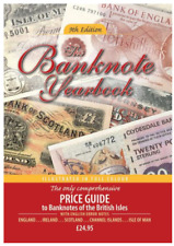 "DIGITAL BOOK ""PRICE GUIDE TO BANKNOTES OF BRITISH ISLES WITH ENGLISH ERROR NOTES"