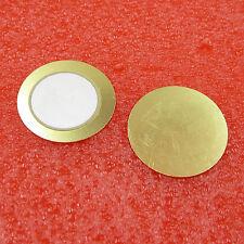 5Pcs 27mm Piezo Elements Sounder Sensor Trigger Drum Disc Copper