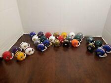 29 Vintage Gumball Football Mini Helmets