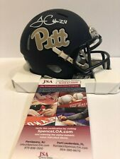 JAMES CONNER AUTOGRAPHED SIGNED PITT PANTHERS MINI HELMET JSA COA