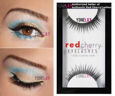 Pick Your 5 Pairs Red Cherry Human Hair Lash False Eyelashes Fake Eye Lashes