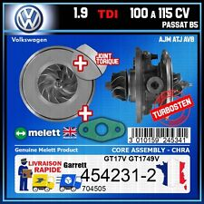 CHRA Melett VW Passat B5 1.9 TDI 100 115 AVB ATJ AJM Turbo 454231-2 704505