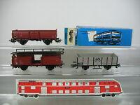 AM338-0,5# 3x Märklin H0/AC Güterwagen: 4604+4613+Museumswagen 1990, 1x OVP