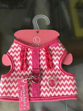 Hundegeschirr  Ziggy Pinka Harnes -Pink  von Pinkaholic New York  Gr  L