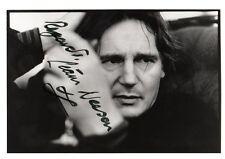 Liam Neeson autógrafo signed-Star Wars, lista schindler, Batman, taken