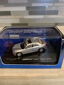 Ricko 2007 Silver Chrysler 300C Hemi SRT8 1:87 HO Scale #38462