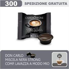 300 CAPSULE COMPATIBILI A MODO MIO BORBONE DON CARLO MISCELA NERA ITALIANFEEL