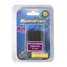 Ultra High Quality Battery for Panasonic VBG 260 2500mAh