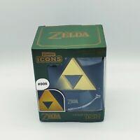 Icon Licht: Zelda Goldenes Triforce Logo 3D (Neu) Merchandise Original Nintendo