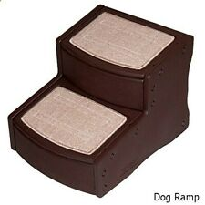 Pet Gear 2 Step Stairs  Chocolate -  by ROSEWOOD - NQP*
