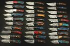 Skinning knives lot of 30 pieces with Sheath, Pocket knives, Camping knives