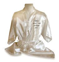 personalised dressing gown/ kimono