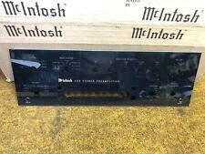 NEW MCINTOSH C32 PREAMPLIFIER GLASS FACEPLATE ORIGINAL P/N 01615300