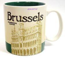 Brand New Starbucks Coffee MUG Global Icon Series Brussels Belgium 16 oz. Cup
