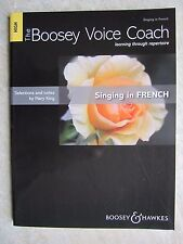 The Boosey Voice Coach - Singing in French for High Voice *NEW*