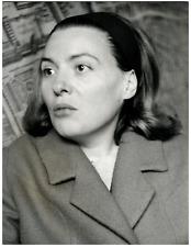 La romancière Marie Cardinal Vintage silver print Tirage argentique  18x24