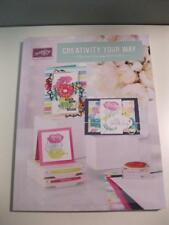 New Stampin' Up! 2017-2018 Annual Catalog & Idea Book- Creativity Your Way!