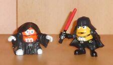 2 x Kleine M&M Werbefiguren / Figuren * Star Wars