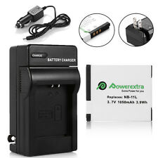 NB-11L NB11LH Battery +Charger For Canon Powershot ELPH 110 130 150 320 340 HS