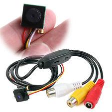 Hidden Home Mini Pinhole Camera Security NTSC 600TVL CCTV Micro HD Video Audio