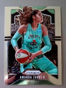 Amanda Zahui B. - New York Liberty 2020 Panini Prizm WNBA Basketball Base #88