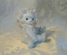 """Calico Kittens """"Love's Special Delivery"""" 1992 Enesco Kitten Figurine"""
