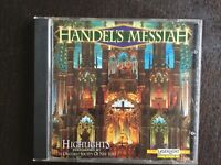 HANDEL'S MESSIAH HIGHLIGHTS PERFORMED BY THE ORATORIO SOCIETY OF NEW YORK CD