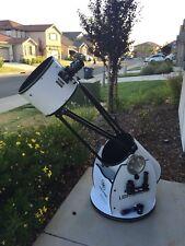 "Meade lightbridge 12"" Diameter dobsonian Telescope With Upgrades And Extras"