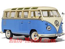 1:18 KK-Scale 1962 Volkswagen T1 Samba Cream/Blue