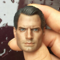 Batman v Superman Henry Cavill Head Sculpt Model 1/6 Fit 12'' Action Figure HT