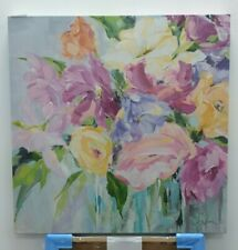 Suzanne from the Garden by Susan Pepe 60x60cm canvas