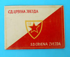 1951.y - FC RED STAR BELGRADE (SD Crvena Zvezda) Serbia Yugoslavia football club