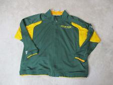 Reebok Green Bay Packers Jacket Adult 4XL XXXXL Green Yellow NFL Football Mens