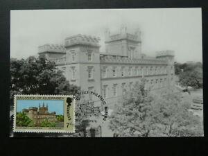 architecture castle Elizabeth College maximum card Guernsey 71194