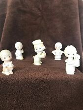 Precious Moments Lot of 5 Figurines/Ornaments Older Highly Collectible