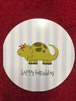 "5 Pack of Paper Eskimo ""Dinosaur"" Happy Birthday Greeting Card"