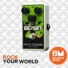 Electro-Harmonix EHX Nano Bass Big Muff Distortion Sustainer FX Effects Pedal