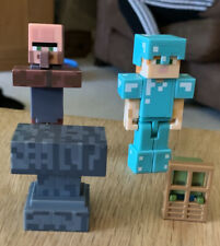 Minecraft Mini's Bundle X 4 Figures