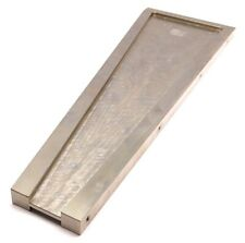 "Right Angle Bracket, 23"" x 7-11/16"" x 3/4"", Thread: 1/4-20, Nickle Plated Steel"