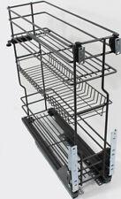 Korb Schrankauszug Küchenunterschrank für Unterschränke 15 20 30 40 50 60cm #8