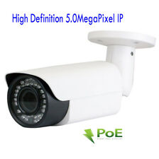 HD H.264 1920P 5MP Outdoor PoE Security IP Camera 2.8-12mm Varifocal Lens ONVIF