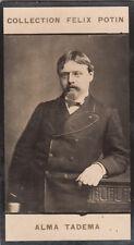 Lourens Lawrence Alma-Tadema Painter Great Britain IMAGE CARD 1907